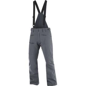 Salomon Outlaw Pantalones Shell 3 Capas Hombre, gris